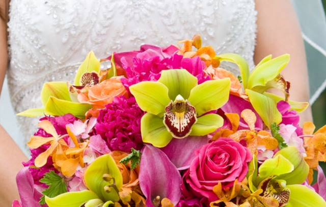 bouquet_sposa_rosa_giallo_orchidee