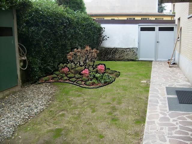 Piccolo giardino a milano un quadrato di giardino - Idee giardini piccoli ...